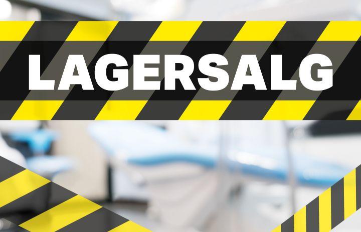 Lagersalg / outlet til tandlæger og klinikker